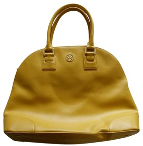 Tory Burch Satchel in Mustard yellow