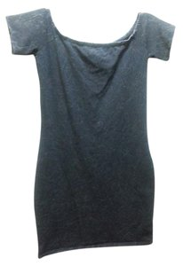 Bongo short dress Grey on Tradesy