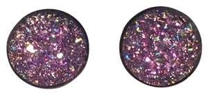 Shop Austla Lavender Sparkle Druzy Earrings