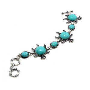 Other Sea Turtle Turquoise Bracelet with Toggle Closure