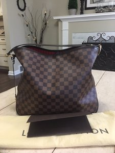 Louis Vuitton Delightful Damier Ebene Hobo Bag