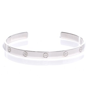 Cartier Cartier LOVE White Gold Cuff Size 17