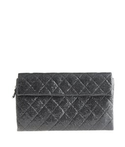 Chanel Lizard Flap Quilted Cc Cross Body Bag