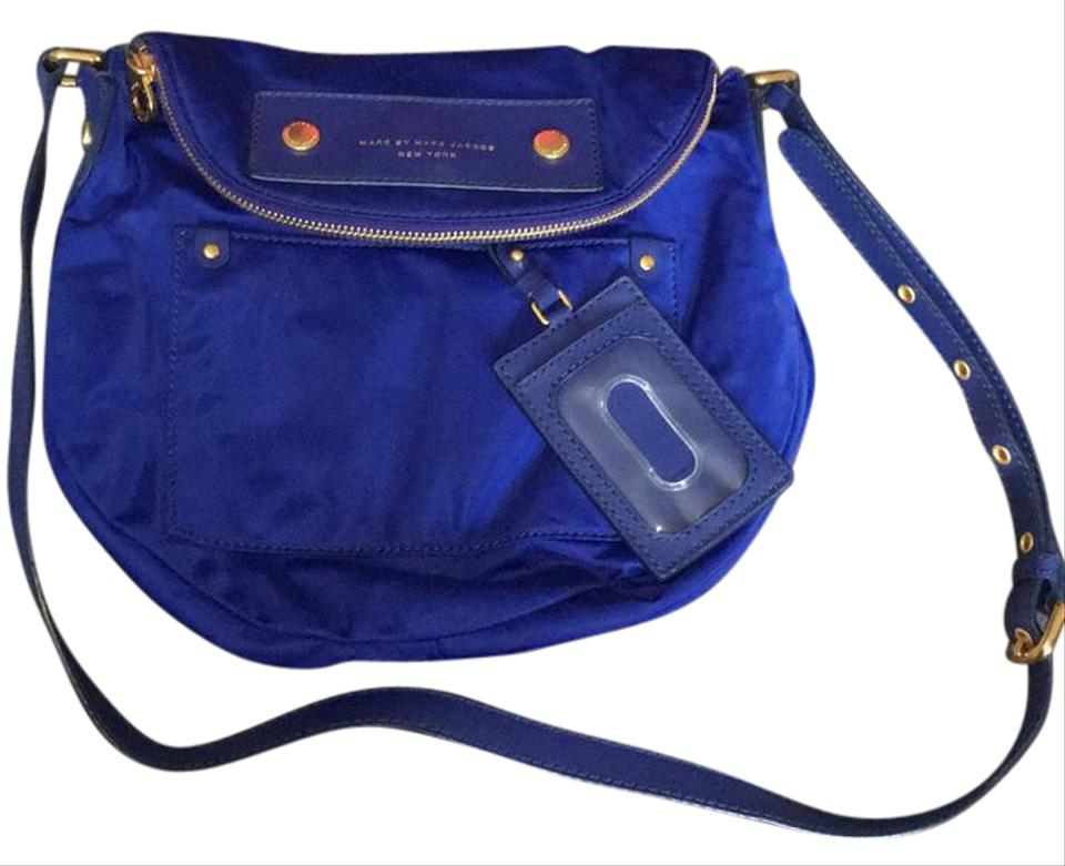 a7c6e76d1aed2 Marc by Marc Jacobs Natasha Mineral Blue Cross Body Bag on Sale