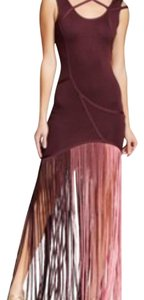 Wow Couture Ombre Fringe Bodycon Formal New With Tags Dress