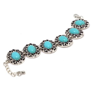 Other Turquoise Stone Accent Bracelet