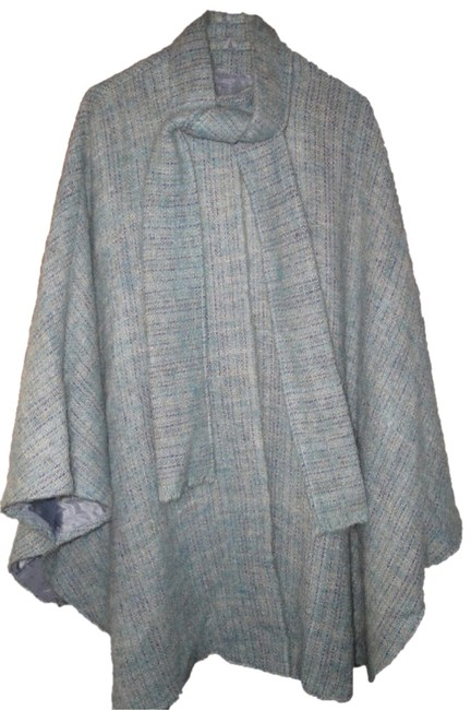 Preload https://item3.tradesy.com/images/blue-womens-vintage-avoca-handweavers-ireland-wool-spring-attached-scarf-ponchocape-size-os-one-size-2050802-0-0.jpg?width=400&height=650