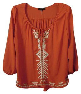 verty Embroidery Tribal Design Tunic