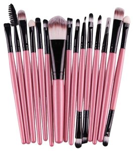 Other 15 pcs/Sets Eye Shadow Foundation Eyebrow Lip Brush Makeup Brushes Too