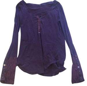 Free People T Shirt plum