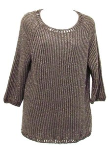 Chico's Macie Metallic Sweater