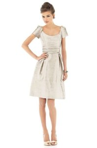 Alfred Sung Champagne D524 Dress
