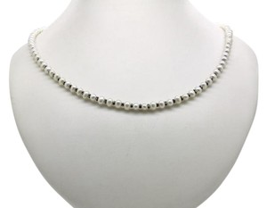 Lagos LAGOS LUNA PEARL Sterling Silver Necklace,Pearl measures 4-5mm