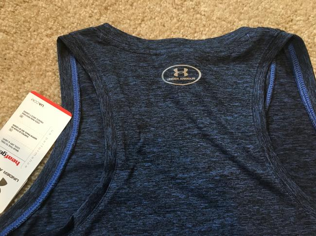 Under Armour Marbled Blue Tank Image 3