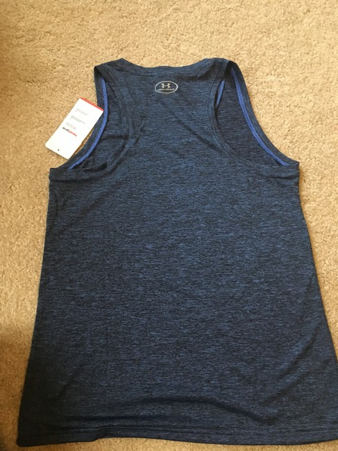 Under Armour Marbled Blue Tank Image 5