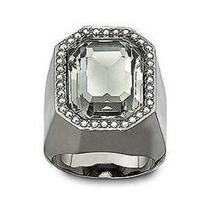 Swarovski vintage-inspired Meteor Ring Black Diamond crystal 60/XL 1065795
