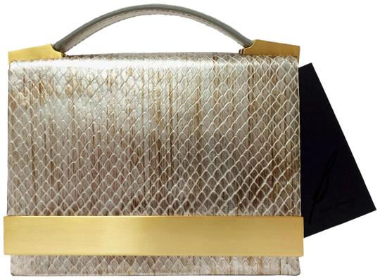 Preload https://img-static.tradesy.com/item/20508487/brian-atwood-ava-snakeskin-embossed-convertible-pewter-leather-clutch-0-12-540-540.jpg