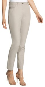 Chico's So Slimming Courtney Ankle Palamino Skinny Pants Beige