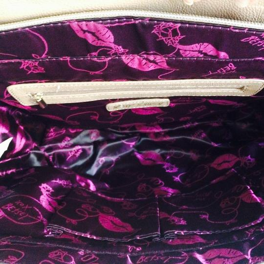 Betsey Johnson Purse Satchel in Pink Image 2