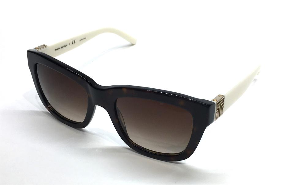 9b762440800c Tory Burch Tortoise with White Temples Ty 7075 132713 Sides - Free ...