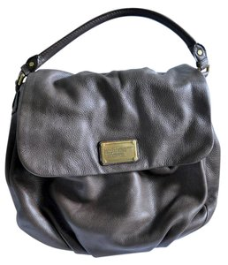 Marc Jacobs Flap Leather Pebbled Leather Shoulder Bag