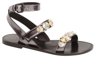 Coach Eleanor Studded Metallic Hardware Sandals