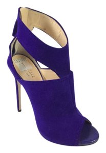 Barneys Co-Op Tstrap Heel Bootie Penny Lane Royal Blue/Purple Sandals