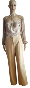 Max Mara Straight Pants Tan