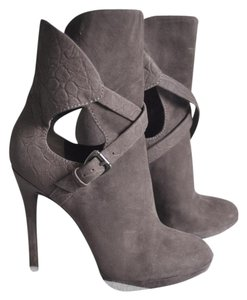 Brian Atwood Suede Sexy Grey Boots