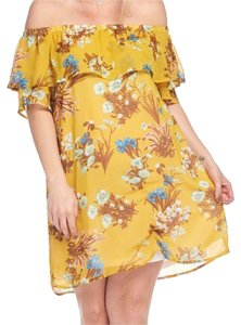 Other short dress Yellow #fashion #plus Size Ccd3576 on Tradesy