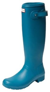 Hunter Blue Boots