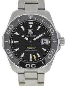 TAG Heuer TAG Heuer WAY211A Aquaracer Calibre 5 Stainless Steel Automatic Watch
