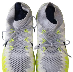 Nike Grey and florescent yellowish greenish Athletic