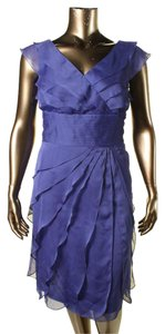 Adrianna Papell Tiered Dress
