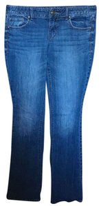 Express Flare Boot Cut Jeans-Light Wash
