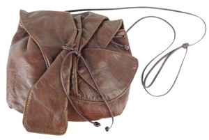 Carlos Falchi Vintage Leather Shoulder Bag