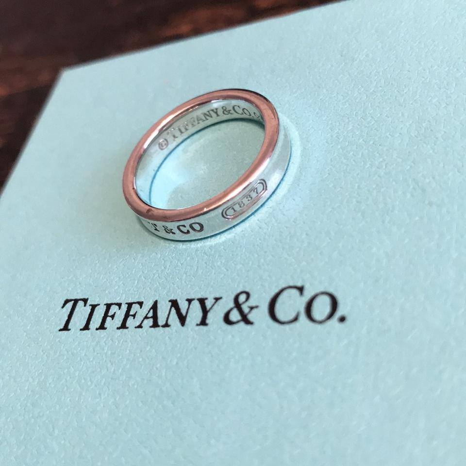 Tiffany 1837 narrow ring on tradesy for Where is tiffany and co located