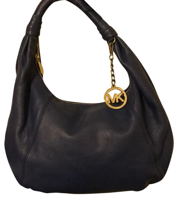 Item - 35s4stth3l Sapphire Leather Hobo Bag