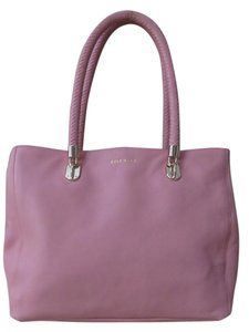 Cole Haan Leather Tote in Baby pink
