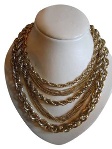 unknown Vintage multi-chain necklace
