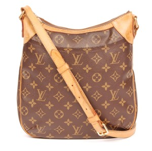 Louis Vuitton Odeon Leather Cross Body Bag