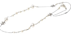 Chanel Rare Chanel Long pearl CC necklace