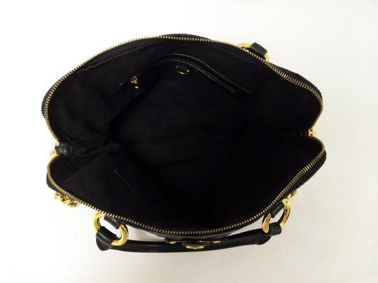 Marc Jacobs Quilted Standard Lambskin Leather Satchel in Black Image 3