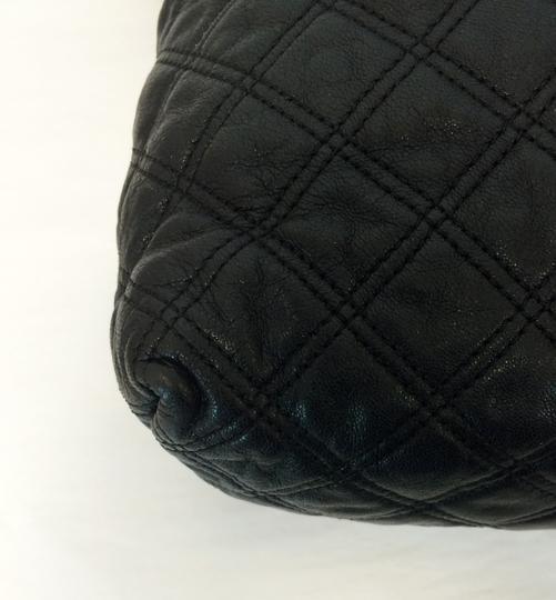 Marc Jacobs Quilted Standard Lambskin Leather Satchel in Black Image 7