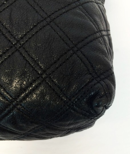 Marc Jacobs Quilted Standard Lambskin Leather Satchel in Black Image 8