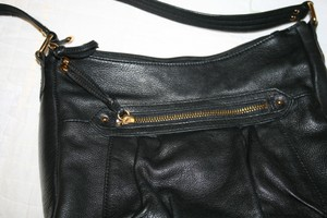 Stone Mountain Accessories Leather Trim/hardware Like New Lots Of Pockets Shoulder Bag