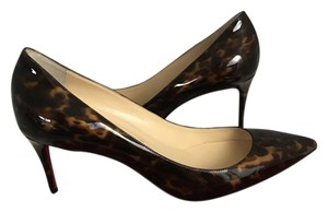 Christian Louboutin New Louboutin Red Sole tartaruga brown Pumps