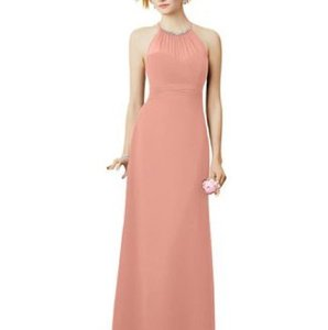 Coral Alfred Angelo Bridesmaid Dress Dress
