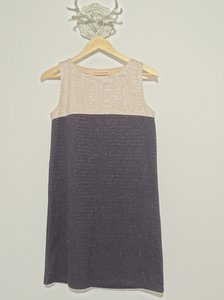 Mango Color-blocking Shift Dress