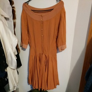 ALAÏA short dress Camel on Tradesy